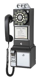 Crosley Radio CR56-BK 1950's Pay Phone (Black) (B000063CK5) | Amazon price tracker / tracking, Amazon price history charts, Amazon price watches, Amazon price drop alerts