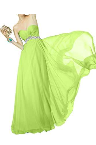 Chiffon A La Gruen Brautjungfernkleider Abendkleider Langes Rock Lemon Linie Braut Orange Marie Ballkleider qtxTw8tRr