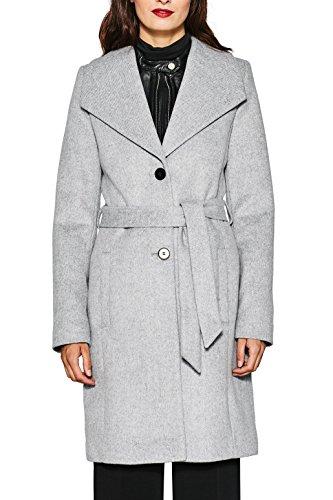 ESPRIT Gris Collection 040 Femme Grey Manteau Light SASTnrF
