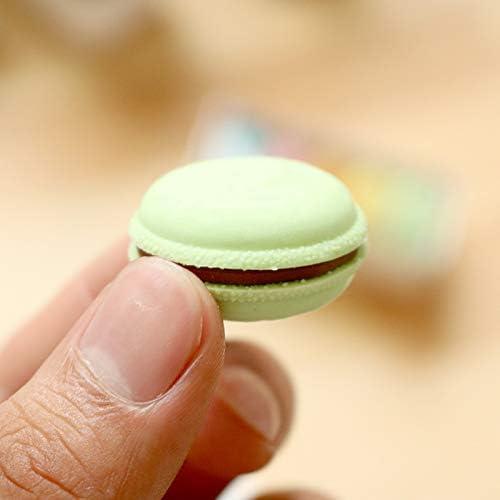 Oyfel 5pcs Lot Bonbons Couleur Macaron Crayon Gommes /À Effacer Japonaise French Pastry Etudiants Fournitures Ecole Couleurs Vari/ées