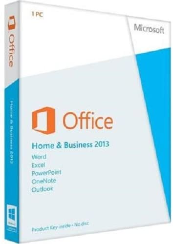 Microsoft Office Home & Business 2013 - Paquete De Ofimática, Inglés, 32-bit/64-bit: Amazon.es: Software