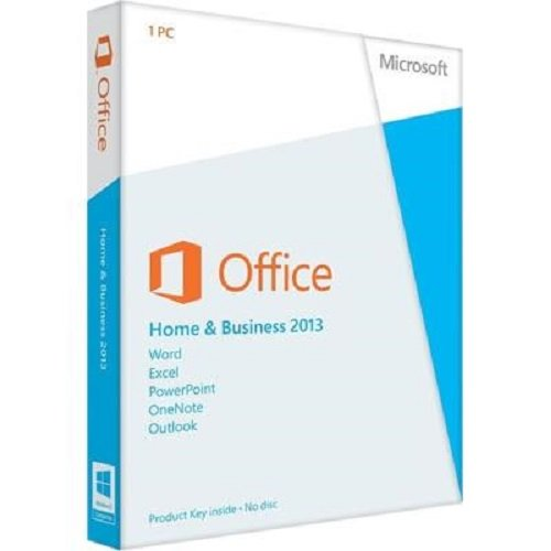 Microsoft Office Home and Business 2013 with DVD for 1 PC by Microsoft