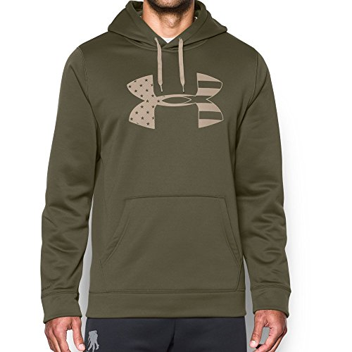 Under Armour Men's Freedom Storm Tonal BFL Hoodie, Marine Od Green (390), X-Large