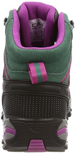 Femme Campagnolo Rigel Rise Chaussures Vert Randonnée Abete High borgogna de CMP 5Z0dgxqwc