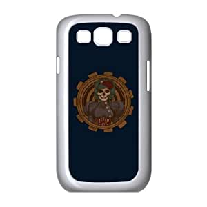 Samsung Galaxy S3 9300 Cell Phone Case White Steampunk Skullgirl GWB The Dairy Phone Cases
