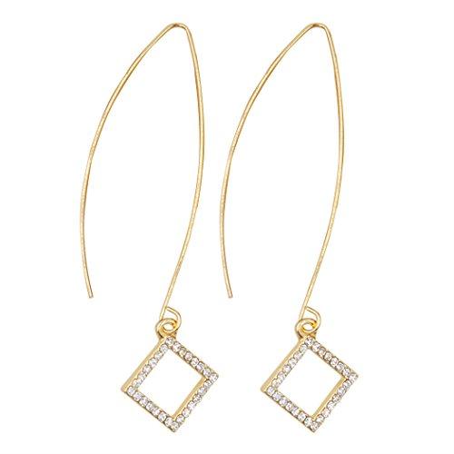 9ct gold diamond cluster dress ring - 1