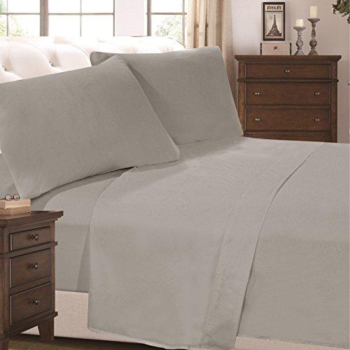 6 Piece Super Soft Luxurious Comfortable Bed Sheet Set (Queen,