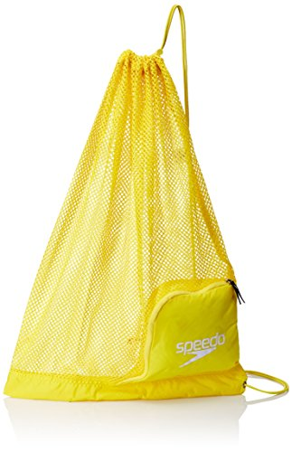 (Speedo Ventilator Mesh Equipment Bag, Blazing Yellow)