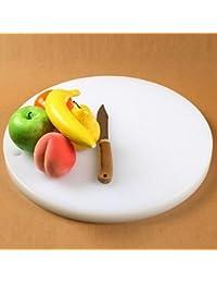 Gain BuW Circular Thickened Anti-Skid Plastic Chopping Board,Plastic 38¡Á38¡Á2.7 CM(15¡Á15¡Á1.1 INCH) Random Color save