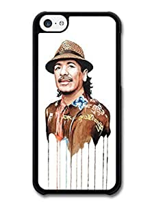 AMAF ? Accessories Carlos Santana Melting Clothes Portrait Illustration case for iPhone 5C