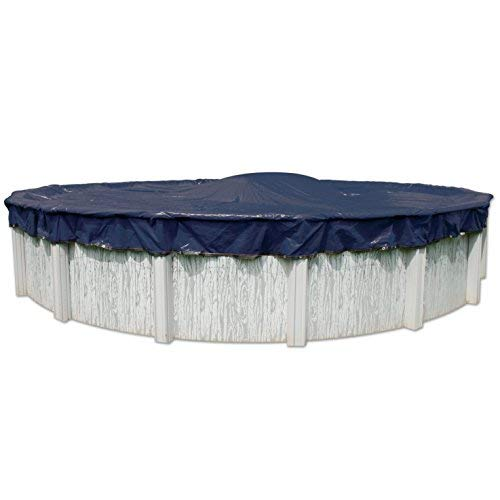 In The Swim 8-Year 21 Foot Round Pool Winter Cover for Above Ground Pools (Complete Round Pool Package)