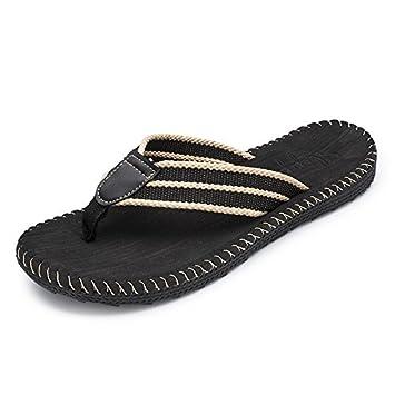 xing lin Homme Sandales Été Tongs Modèle Trend Casual antidérapant Coole Mode Clip Sandales Chaussures pour homme FR:42 Brown B OTCRCSr92W