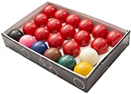 Pool Table Billiard Ball Set, Art Number Style Precision Engineered Premium Billiard– Complete 16 Ball Set–2-1