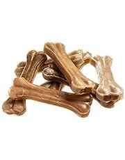 Bontoy Leckere Kauknochen 17 cm - 1000g aus gepresster Rinderhaut. Derperfekte Kauspass für Ihren Hund