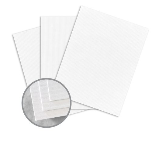 CLASSIC COLUMNS Avalanche White Card Stock - 35 x 23 in 80 lb Cover Embossed 300 per Carton
