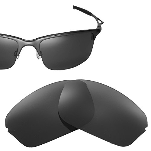 Cofery Replacement Lenses for Oakley Half Wire 2.0 Sunglasses - Multiple Options Available (Black - - Replacement Half Lenses Wire Oakley
