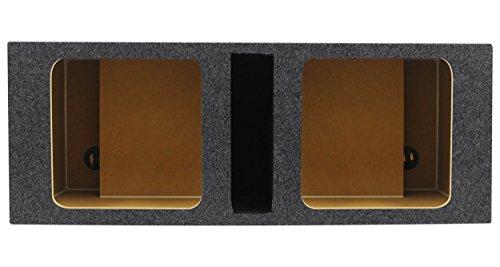 Rockville RDVK10 Dual 10 Solo Baric L7/L5/L3 Vented Square Sub Enclosure Box - Solo Baric L7 Sub Box