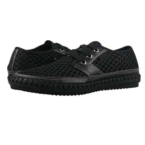Neopreno Agua de Hombres Zapatos de Banco Al Ejercicio Ligero Traje Respirable Zapatos Plano Casual Malla Aire Nadar Suave CUSTOME Negro Libre qpvgcWtwBq