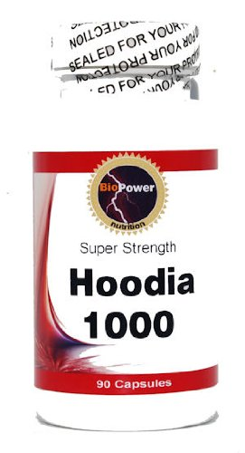 (# Hoodia 1000 - Pure 1000 mg 90 Capules - BioPower Nutrition)
