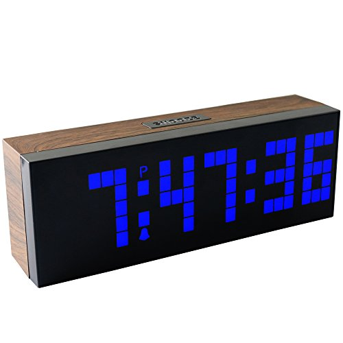 Chihai Digital Led Clock Wall Alarm Digital Calendar Clock