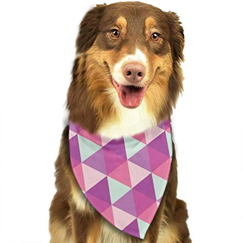 OURFASHION Feminine Cupcake Geometric Bandana Triangle Bibs Scarfs Accessories for Pet Cats and Puppies ()