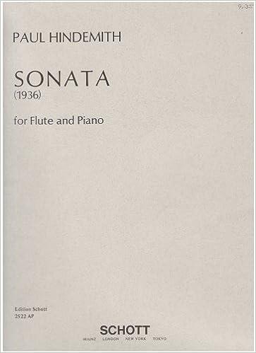1936 Flute Hindemith Sonata