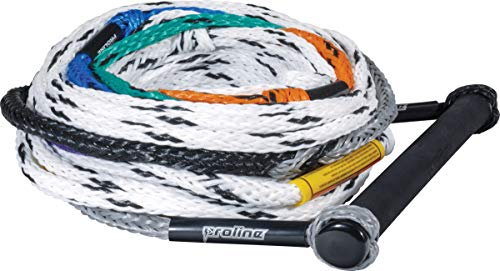 PROLINE Waterski Handle and 75' - 8 Section Rope Package