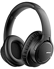 Mpow H7 Cascos Bluetooth Inalámbrico, Auriculares Bluetooth de Diadema, 18hrs de Duración de la Batería, Auriculares Inalámbricos Cerrados con Micrófono, Audífono para Moviles, TV, PC