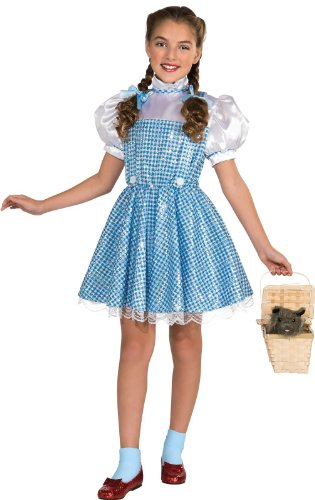 Wizard of Oz Dorothy Sequin Costume, Medium (75th Anniversary Edition) - Dorothy Wizard Of Oz Costume Amazon
