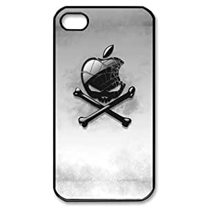 SUUER Apple Skull Hard CASE for iPhone 5 5s case -Black CASE