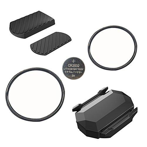 CYCPLUS Bike Speed Sensor and Cadence Sensor Wireless Bluetooth ANT+ for Garmin, Wahoo, Zwift, Sunnto, Tacx, Bkool, PerfPRO Studio, CycleOps, TrainerRoad Magnetless Waterproof 9.2g 300 Days Standby C3 by CYCPLUS (Image #1)