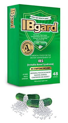 (IBgard® for Irritable Bowel Syndrome, 48 Capsules)