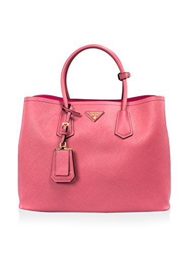 Prada Women's Saffiano Cuir Tote, Pink -