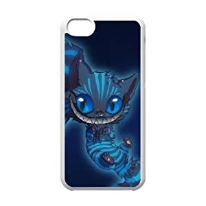 iPhone 5C Phone Case White Disney Cheshire Cat F6533700