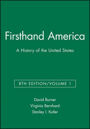 Central Burner - Firsthand America: A History of the United States, Volume 1