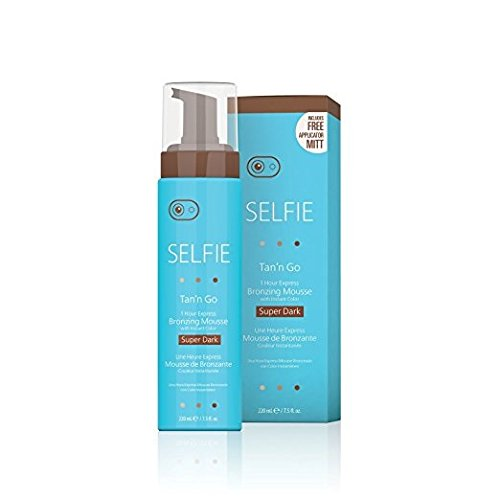 Selfie-TanN-Go-1-Hour-Express-Bronzing-Mousse-Super-Dark-75oz-Per-Bottle-10-Pack