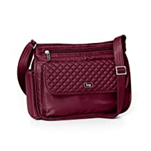 Lug Swivel Cross Body Bag, Cranberry Red, One Size