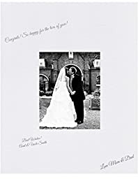 16x20 White Signature and Autograph Picture Mat for 8x10 picture. Weddings, Baby Showers, Reunions