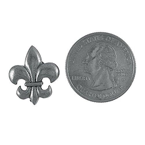 Fleur De Lis Lapel Pin - 1 Count