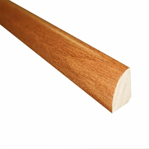 (Cherry Natural 3/4 in. Thick x 3/4 in. Wide x 78 in. Length Hardwood Quarter Round Molding)