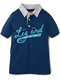 Boys Graphic Rugby Polo Made With Organic Cotton