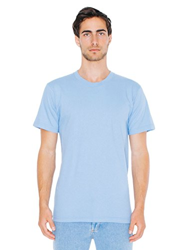 isex Fine Jersey Short Sleeve T-Shirt, Baby Blue, X-Small ()