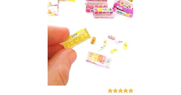 1:12 Scale Empty Easter Egg Box Tumdee Dolls House Miniature Sweets Sponge Bob