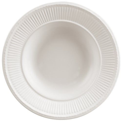 Wedgwood Edme 9-Inch Rim Soup Plate, White