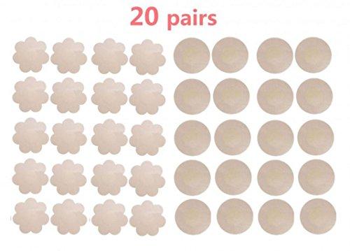 Satin Breast Petals - 9