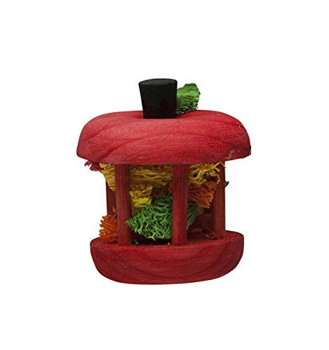 Kaytee Carousel Chew Toy Apple, Small (Perfect For Rats Kaytee Chews)