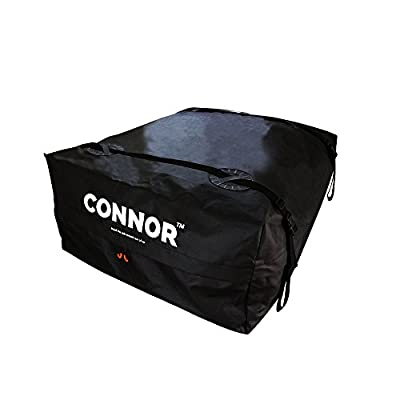 Connor 1619200 Roof Top Cargo Bag for Roof Racks (15 Cubic Ft. Waterproof Carrier Bag/Car Top Carrier with Reinforced Extra Durable Wide Straps)