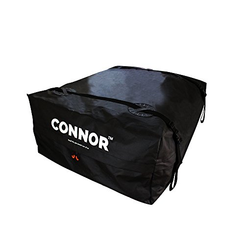 Connor 1619200 Cargo Roof Racks (15 Cubic ft. Waterproof Bag/Car Top Carrier with Reinforced Extra Durable Wide Straps) (Roof Freight Car)