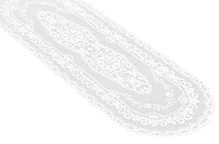 Miles Kimball White Lace Table Runner - 15 x 45 (B00O33LWWK) | Amazon price tracker / tracking, Amazon price history charts, Amazon price watches, Amazon price drop alerts