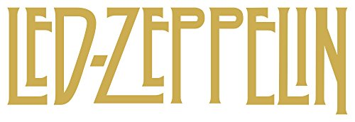 - Led Zeppelin Small, Led Zeppelin Large, Physical Graffiti, Houses Of The Holy, Please Message Us For Custom Sizes And Orders (H 3 By L 9 Inches, Gold)